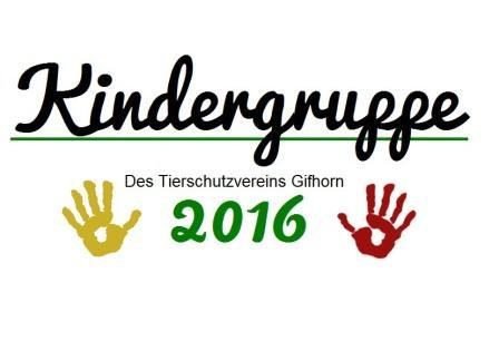 Kinder- und Jugendtierschutzgruppe 2016